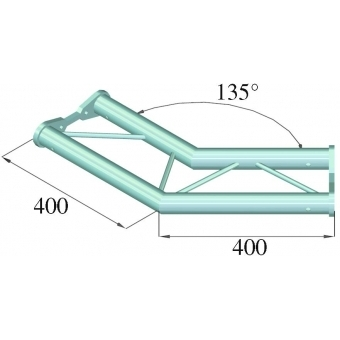 ALUTRUSS BISYSTEM PH-23 2-way 135° horizontal #2