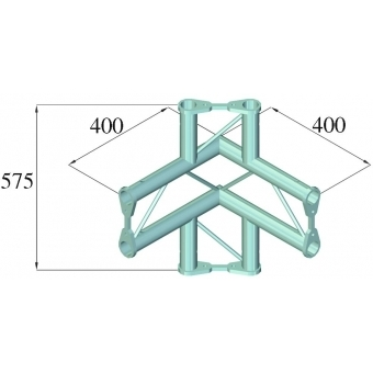 ALUTRUSS BISYSTEM PV-44 4-way corner vertical #2