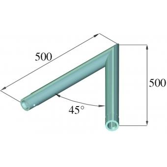 ALUTRUSS DECOLOCK DQ1-C19 2-Way Corner 45° #2