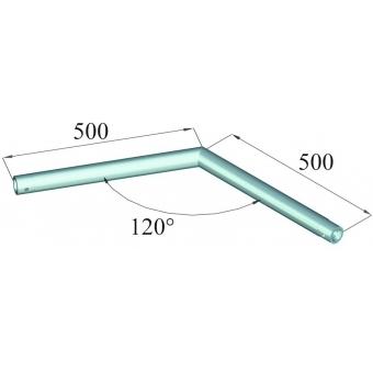 ALUTRUSS DECOLOCK DQ1-C22 2-Way Corner 120° #2