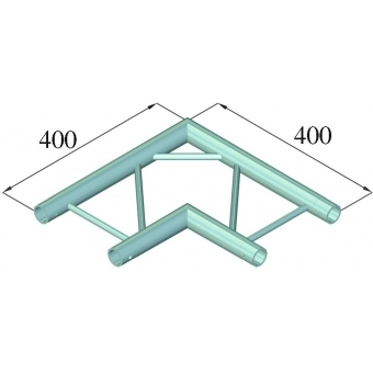 ALUTRUSS DECOLOCK DQ2-PAC21H 2-way Corner 90° #2
