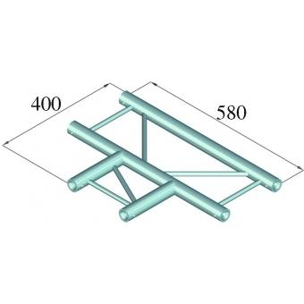 ALUTRUSS DECOLOCK DQ2-PAT35H 3-way T-Piece 90° #2