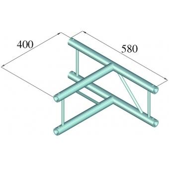 ALUTRUSS DECOLOCK DQ2-PAT36V 3-way T-Piece 90° #2