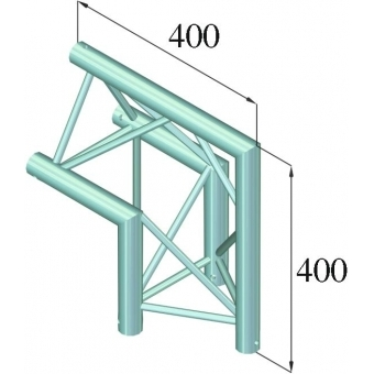 ALUTRUSS DECOLOCK DQ3-PAC24 2-Way Corner 90° #2