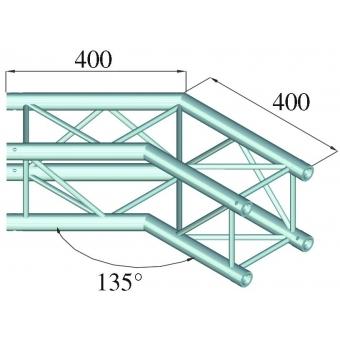 ALUTRUSS DECOLOCK DQ4-PAC23 2-Way Corner 135° #2