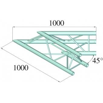 ALUTRUSS TRILOCK E-GL33 C-19 2-Way Corner 45° #2