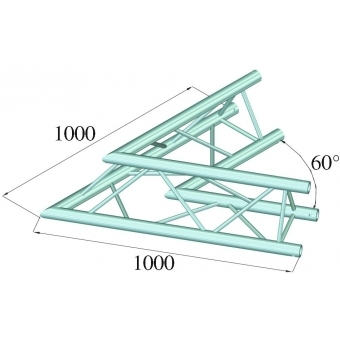 ALUTRUSS TRILOCK E-GL33 C-20 2-Way Corner 60° #2