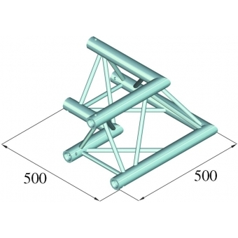 ALUTRUSS TRILOCK E-GL33 C-21 2-Way Corner 90° #2