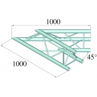 ALUTRUSS TRILOCK 6082AC-19 2-Way Corner 45° #2