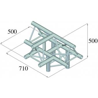 ALUTRUSS TRILOCK 6082AT-43 4-Way Piece / #2