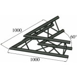 ALUTRUSS TRILOCK S-PAC 20 2-Way Corner 60° black