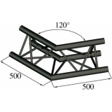 ALUTRUSS TRILOCK S-PAC 22 2-Way Corner 120°black