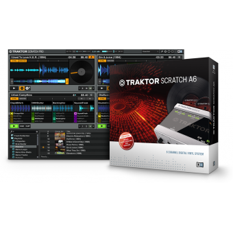 Native Instruments Traktor Scratch A6 #2