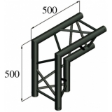 ALUTRUSS TRILOCK S-PAC 25 2-Way-Corner 90°/ black