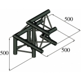 ALUTRUSS TRILOCK S-PAL-31 3-Way Corner / right
