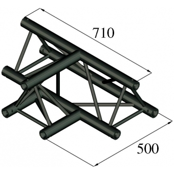 ALUTRUSS TRILOCK S-PAT-36 3-Way T-Piece