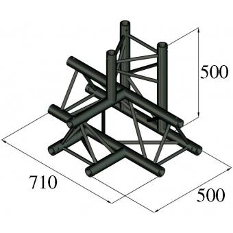 ALUTRUSS TRILOCK S-PAT-42 4-Way Piece /