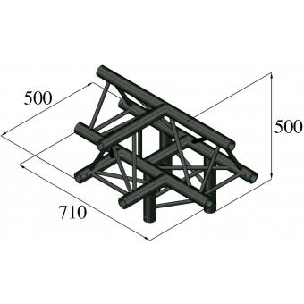 ALUTRUSS TRILOCK S-PAT-43 4-Way Piece /