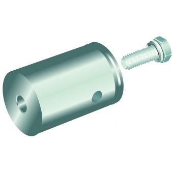 ALUTRUSS QUADLOCK female conical coupler w.screw #2