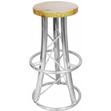 ALUTRUSS Bar Stool, curved