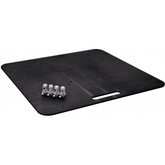 ALUTRUSS Base Plate BP-30S 80x80 black