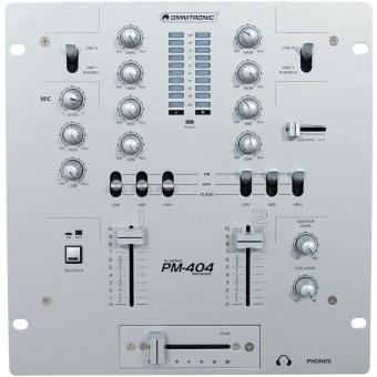 OMNITRONIC PM-404 DJ Mixer #5