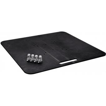 ALUTRUSS Base Plate BP-40S 80x80 black