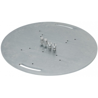 ALUTRUSS Steel Base Plate round type A