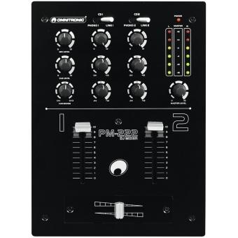 OMNITRONIC PM-222 2-Channel DJ Mixer #5