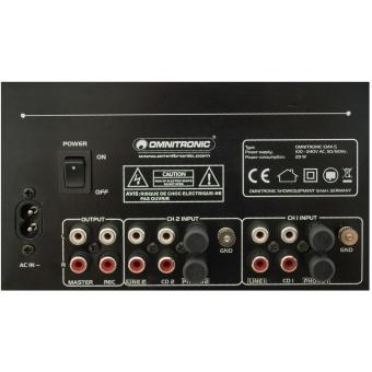 OMNITRONIC PM-222 2-Channel DJ Mixer #6