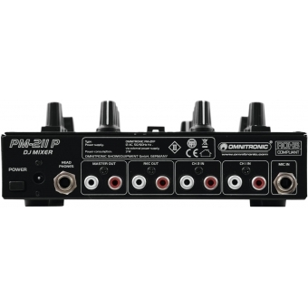 OMNITRONIC PM-211P DJ Mixer with Player #3