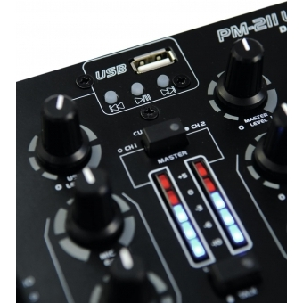 OMNITRONIC PM-211P DJ Mixer with Player #4