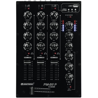 OMNITRONIC PM-311P DJ Mixer with Player #2