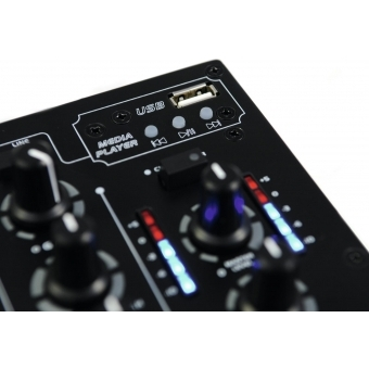 OMNITRONIC PM-311P DJ Mixer with Player #4