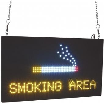EUROLITE LED Sign SMOKING AREA