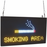 EUROLITE LED Sign SMOKING AREA