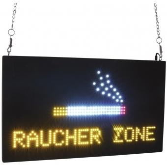EUROLITE LED Sign RAUCHERZONE