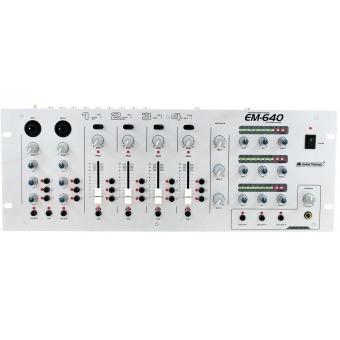 OMNITRONIC EM-640 Entertainment Mixer #4