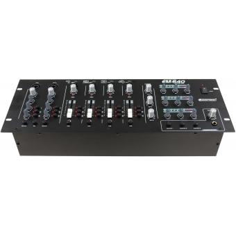 OMNITRONIC EM-640B Entertainment Mixer #3