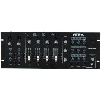 OMNITRONIC EM-640B Entertainment Mixer #4
