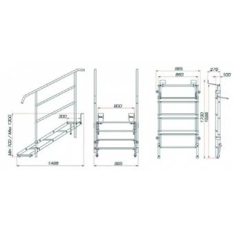 GUIL ECP-04/440 Stage Stair #3