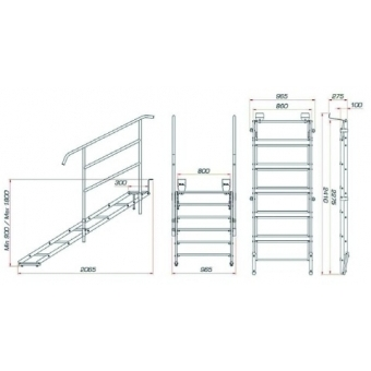 GUIL ECP-06/440 Stage Stair #2
