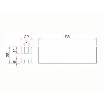 GUIL TMU-09/440 Profile Connector #8