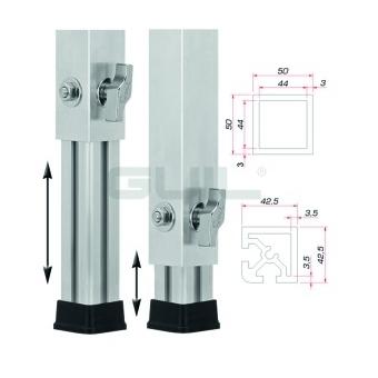 GUIL PTA-440/20-25 Telescopic foot