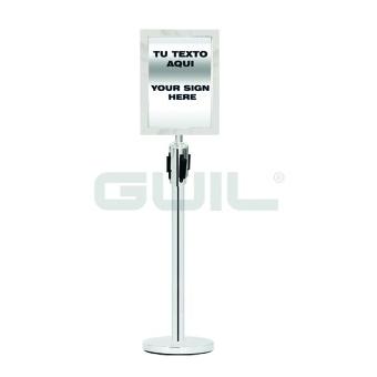 GUIL PST-A4V Sign 26x35cm