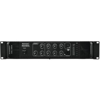 OMNITRONIC MPZ-250.6 PA Mixing Amplifier #4