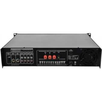 OMNITRONIC MPZ-250.6 PA Mixing Amplifier #5