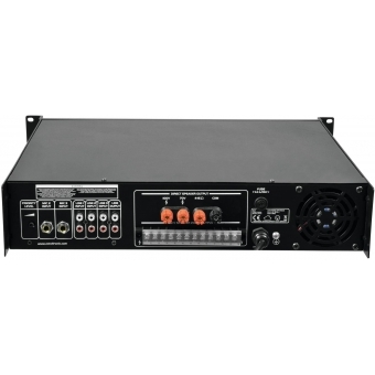OMNITRONIC MPZ-500.6 PA Mixing Amplifier #4