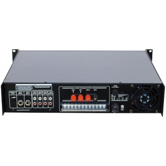 OMNITRONIC MPZ-500.6 PA Mixing Amplifier #5
