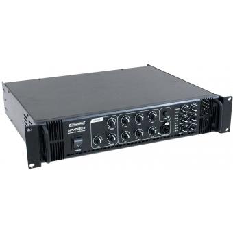 OMNITRONIC MPVZ-180.6 PA Mixing Amplifier #3